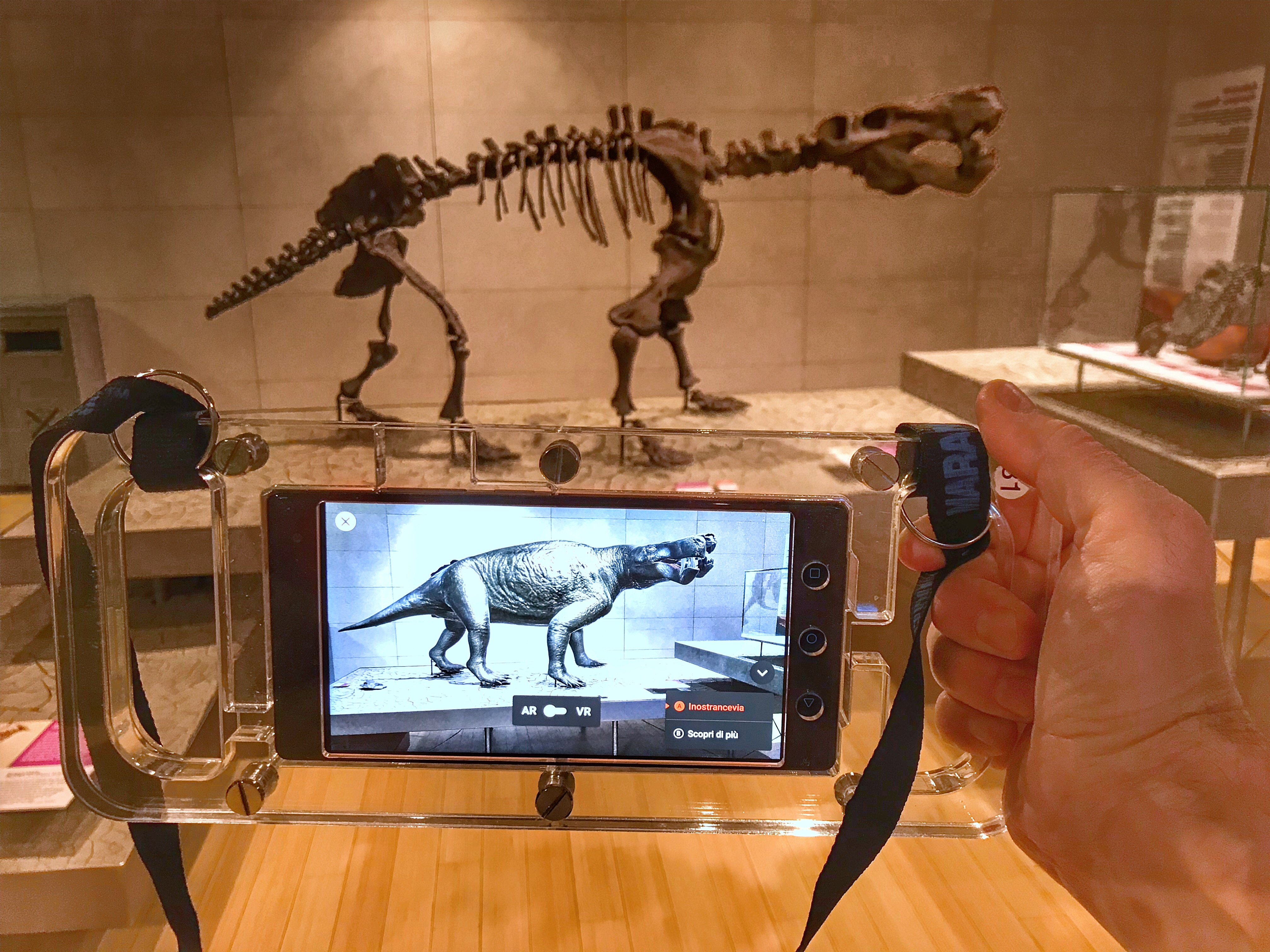 Squelette de dinosaure